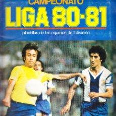 Coleccionismo deportivo: 224 CROMOS ALBUM CAMPEONATO LIGA 80-81 EQUIPOS 1ª DIVISION. Lote 69667617