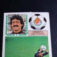 Coleccionismo deportivo: ESTE 83/84 1983/1984 - FICHAJE 32 CENDOYA - REAL VALLADOLID - ( DESPEGADO SUPERIOR ) . Lote 69769429