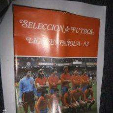 Coleccionismo deportivo: ALBUM CROMOS VACIO PLANCHA LIGA ESPAÑOLA 83. Lote 70113581
