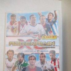 Coleccionismo deportivo: ALBUM ADRENALYN 2012-2013 CON 394 CROMOS.. Lote 70155525