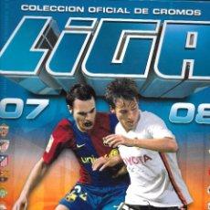 Coleccionismo deportivo: IÑI ÁLBUM DE CROMOS FÚTBOL. LIGA 07 08. 2007 2008. ESTE. SOCCER STICKERS. LOTE BETA.. Lote 109996456