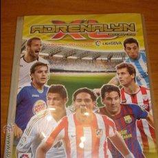 Coleccionismo deportivo: ADRENALYN TRADING CARDS LIGA 2011/2012 : ALBUM + CASI 390 DIFERENTES. Lote 36131265