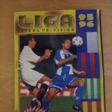 Coleccionismo deportivo: ALBUM LIGA ESTE 95/96 INCOMPLETO 1995-96 1996. Lote 70498937