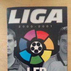 Coleccionismo deportivo: ALBUM LIGA 2000/2001 INCOMPLETO DE PANINI 00-01. Lote 70541953