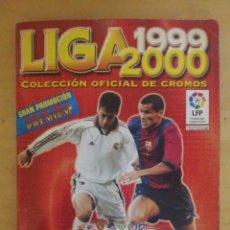Coleccionismo deportivo: ALBUM LIGA 99/00 INCOMPLETO DE PANINI 1999-00 99-2000. Lote 70558993