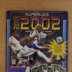 Coleccionismo deportivo: ALBUM SUPER LIGA 01/02 INCOMPLETO DE PANINI. Lote 70561509
