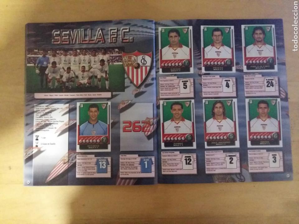 Coleccionismo deportivo: album super liga 01/02 incompleto de panini - Foto 14 - 70561509