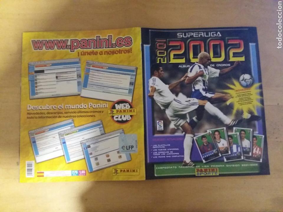 Coleccionismo deportivo: album super liga 01/02 incompleto de panini - Foto 21 - 70561509
