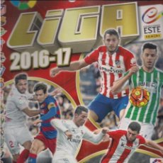 Coleccionismo deportivo: ÁLBUM LIGA 2016/2017 PRIMERA DIVISIÓN. EDICIONES ESTE - PANINI. Lote 70961277