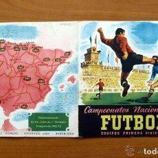 Coleccionismo deportivo: ALBUM RACING DE SANTANDER - EDITORIAL RUIZ ROMERO 1952-1953, 52-53 - CON 23 CROMOS. Lote 71484687