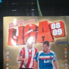 Coleccionismo deportivo: ALBUM LIGA 08-09 INCOMPLETO 307 CROMOS. Lote 71605721