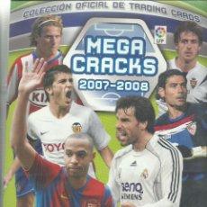 Coleccionismo deportivo: ALBUM DE LAS FICHAS DE MEGA CRACKS 2007/2008 CON 510 FICHAS. Lote 71636667