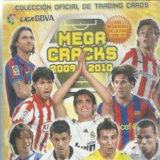 Coleccionismo deportivo: ALBUM DE LAS FICHAS DE MEGA CRACKS 2009/2010 CON 281FICHAS. Lote 71636843