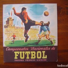 Coleccionismo deportivo: ALBUM VACIO CAMPEONATOS NACIONALES DE FUTBOL 1953 - 1952/53 52/53 RUIZ ROMERO - PLANCHA . Lote 71663343