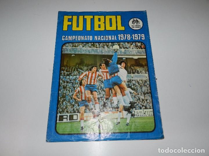 ALBUM FUTBOL CAMPEONATO NACIONAL 1978 - 1979 RUIZ ROMERO, A FALTA DE 18 CROMOS (Coleccionismo Deportivo - Álbumes y Cromos de Deportes - Álbumes de Fútbol Incompletos)