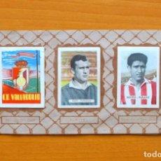 Coleccionismo deportivo: VALLADOLID - EDITORIAL RUIZ ROMERO 1951-1952, 51-52 - SIN PORTADAS,CON 23 CROMOS - VER FOTOS. Lote 71930711