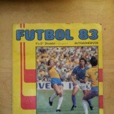 Coleccionismo deportivo: ALBUM FUTBOL 83 INCOMPLETO DE PANINI 1983. Lote 72196951