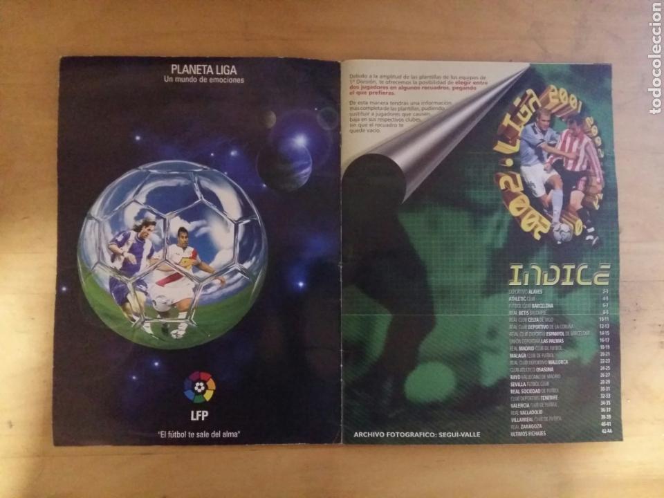 Coleccionismo deportivo: ALBUM LIGA ESTE 2001/02 INCOMPLETO DE PANINI 01-02 2002 - Foto 2 - 72333407