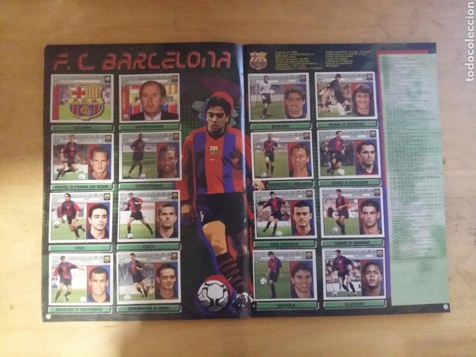 Coleccionismo deportivo: ALBUM LIGA ESTE 2001/02 INCOMPLETO DE PANINI 01-02 2002 - Foto 3 - 72333407