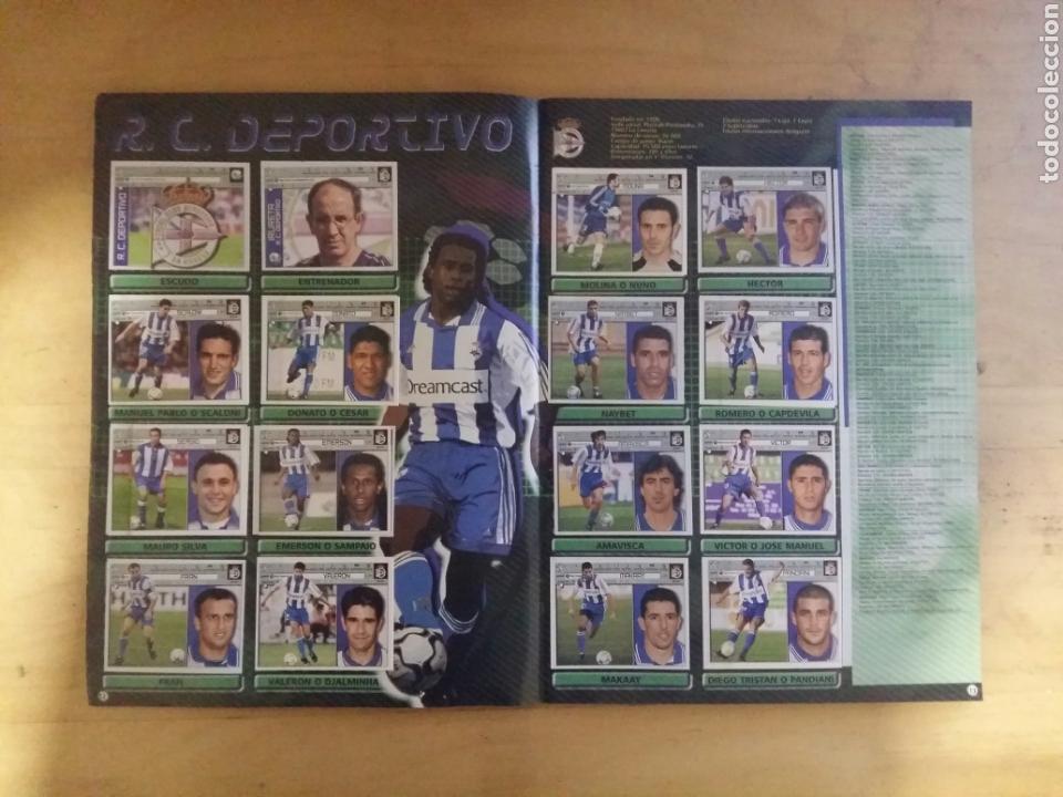 Coleccionismo deportivo: ALBUM LIGA ESTE 2001/02 INCOMPLETO DE PANINI 01-02 2002 - Foto 4 - 72333407