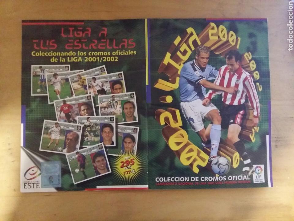 Coleccionismo deportivo: ALBUM LIGA ESTE 2001/02 INCOMPLETO DE PANINI 01-02 2002 - Foto 12 - 72333407
