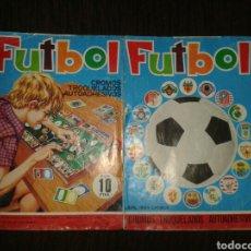 Coleccionismo deportivo: ALBUM FUTBOL MAGA NO COMPLETO. Lote 72928179