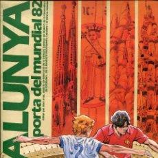 Coleccionismo deportivo: AA ÁLBUM FÚTBOL CROMOS-MUNDIAL 82-. Lote 73415551