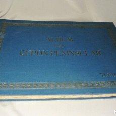 Coleccionismo deportivo: ALBUM DEL CUPON PENINSULAR . TOMO 1 . DEL AÑO 1932 INCOMPLETO. Lote 73605526