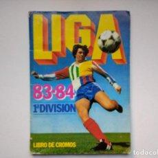 Coleccionismo deportivo: ÁLBUM INCOMPLETO ESTE LIGA 83-84 1983-84 VERSIONES DIFÍCILES CÁDIZ, FICHAJES, ETC. Lote 73607131
