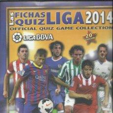 Coleccionismo deportivo: ALBUM DE LAS FICHAS DE LA LIGA 2014 CON 584 FICHAS. Lote 73840179