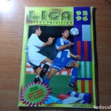 Coleccionismo deportivo: ALBUM CROMOS PLANCHA VACIO LIGA ESTE 1995 1996 95 96 INCLUYE ALBACETE Y VALLADOLID. Lote 73880191
