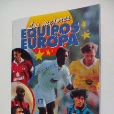 Coleccionismo deportivo: ALBUM VACIO PLANCHA - LOS MEJORES EQUIPOS DE EUROPA 1996 1997 PANINI. Lote 74342839