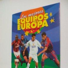 Coleccionismo deportivo: ALBUM VACIO PLANCHA - LOS MEJORES EQUIPOS DE EUROPA 1997 1998 PANINI . Lote 74343023