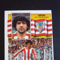 Coleccionismo deportivo: ESTE 90/91 1990 1991 - URTUBI - ATHLETIC CLUB DE BILBAO ( NUNCA PEGADO ). Lote 74640675