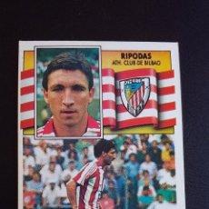 Coleccionismo deportivo: ESTE 90/91 1990 1991 - RIPODAS - ATHLETIC CLUB DE BILBAO ( NUNCA PEGADO ). Lote 74641531