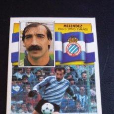 Coleccionismo deportivo: ESTE 90/91 1990 1991 - MELÉNDEZ - R.C.D. ESPAÑOL ( DESPEGADO ). Lote 74991879