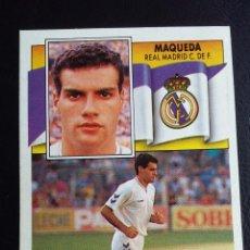Colecionismo desportivo: ESTE 90/91 1990 1991 - MAQUEDA ( COLOCA ) - REAL MADRID ( LEVE DESPEGADO ). Lote 75070711