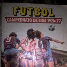 Coleccionismo deportivo: ALBÚM LIGA DE FÚTBOL ESTE 1976 77. CONTIENE 190 CROMOS. Lote 75242939