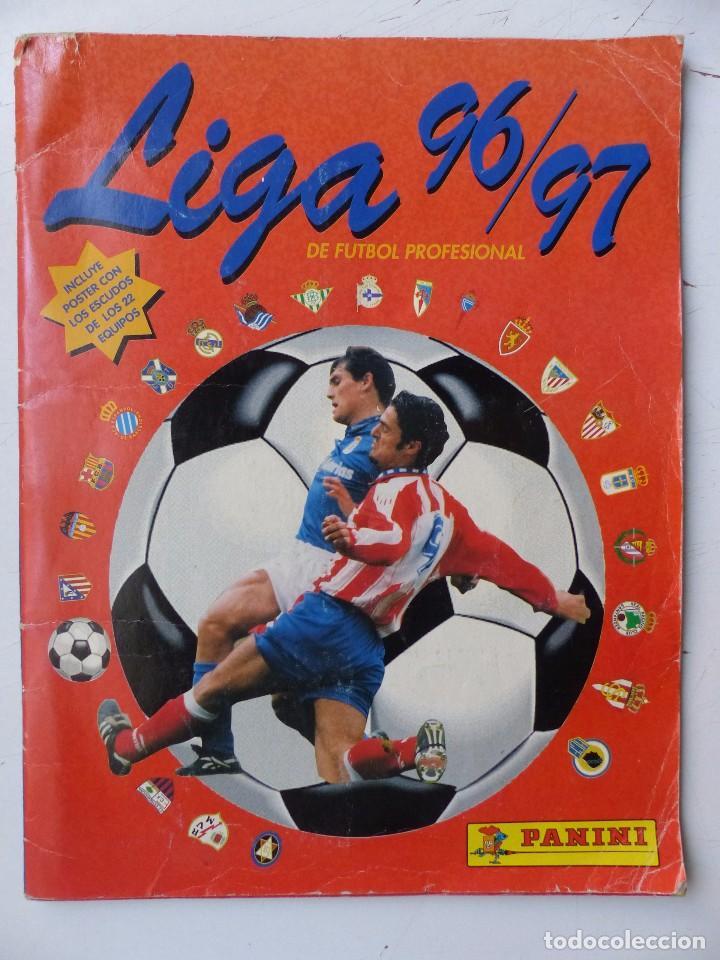 ALBUM FUTBOL - LIGA 1996-1997 96-97 - PANINI - VER DESCRIPCION Y FOTOS (Coleccionismo Deportivo - Álbumes y Cromos de Deportes - Álbumes de Fútbol Incompletos)