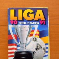 Coleccionismo deportivo: LIGA 1990-1991, 90-91 - EDICIONES ESTE - CONTIENE 400 CROMOS - VER FOTOS Y EXPLICACIÓN INTERIOR. Lote 75355543