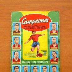 Coleccionismo deportivo: CAMPEONES - LIGA 1953-1954, 53-54 -ED. BRUGUERA - EL PRIMER AÑO DE DI STEFANO EN REAL MADRID, ROOKIE. Lote 48607446