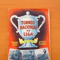 Coleccionismo deportivo: ÁLBUM TORNEO NACIONAL DE LIGA 1953-1954, 53-54 - EDITORIAL BRUGUERA. Lote 75520727