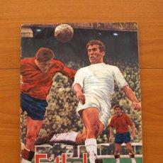 Coleccionismo deportivo: FÚTBOL 1ª Y 2ª DIVISIÓN TEMPORADA 1968-1969, 68-69 - EDITORIAL FHER - CON 344 CROMOS . Lote 75577199