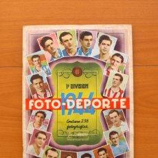 Coleccionismo deportivo: FOTO-DEPORTE 1944, 43-44 - EDITORIAL BRUGUERA - CON 208 CROMOS - VER EXPLICACIÓN INTERIOR. Lote 26399981