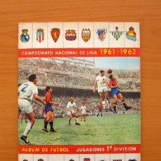 Coleccionismo deportivo: CAMPEONATO NACIONAL DE LIGA 1961-1962, 61-62 - EDITORIAL BARCICROM . Lote 75609195