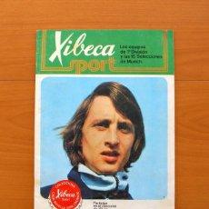 Coleccionismo deportivo: XIBECA SPORT - CERVEZAS DAMM 1974 - ÁLBUM, LOS EQUIPOS DE 1ª DIVISIÓN Y LAS 16 SELECCIONES DE MUNICH. Lote 75611331