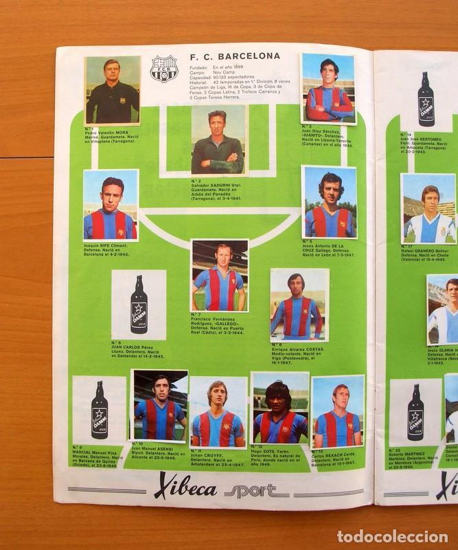 Coleccionismo deportivo: Xibeca sport - Cervezas Damm 1974 - Álbum, Los equipos de 1ª División y las 16 Selecciones de Munich - Foto 3 - 75611331
