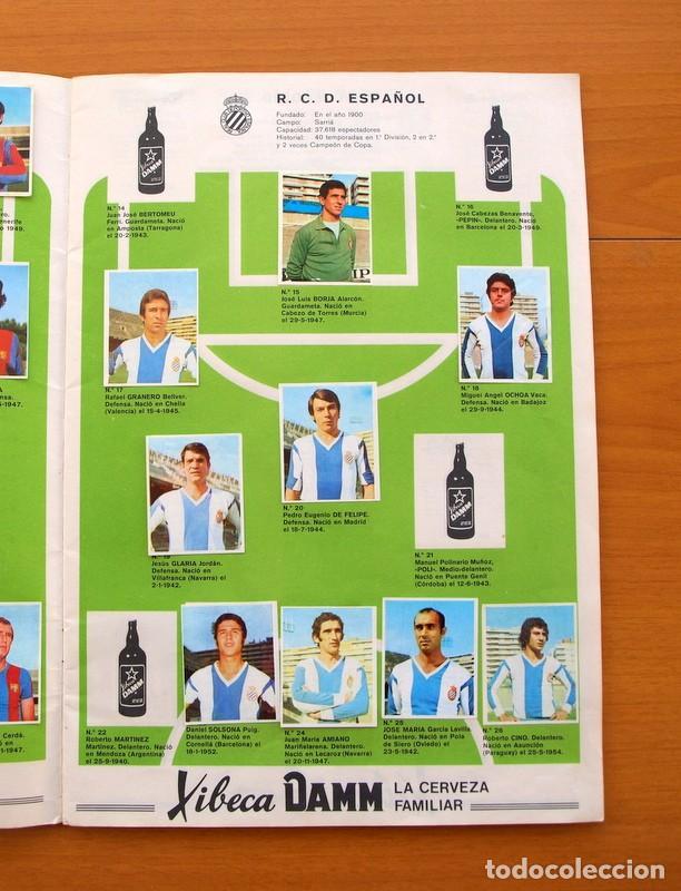 Coleccionismo deportivo: Xibeca sport - Cervezas Damm 1974 - Álbum, Los equipos de 1ª División y las 16 Selecciones de Munich - Foto 4 - 75611331