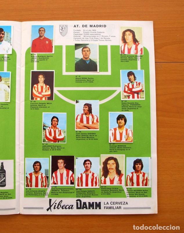 Coleccionismo deportivo: Xibeca sport - Cervezas Damm 1974 - Álbum, Los equipos de 1ª División y las 16 Selecciones de Munich - Foto 6 - 75611331