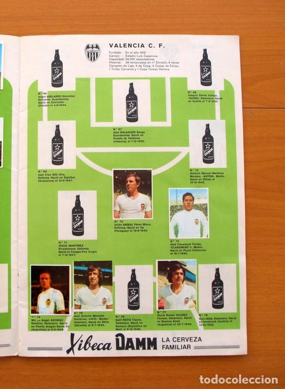 Coleccionismo deportivo: Xibeca sport - Cervezas Damm 1974 - Álbum, Los equipos de 1ª División y las 16 Selecciones de Munich - Foto 8 - 75611331